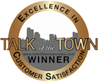 One Call Roofers Customer Service Award