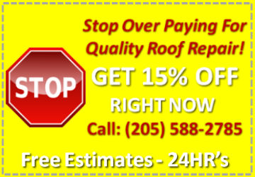roof repair vestavia hills, al